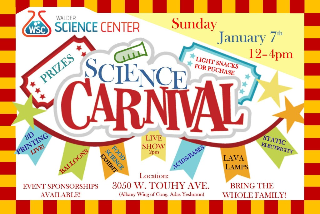 Science Carnival Flyer Front 2017