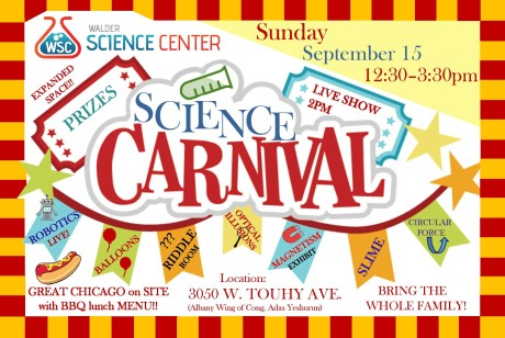 Science Carnival Flyer Front 2019